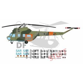 Decal-Satz Mi-2 SAR Bundeswehr