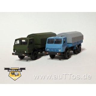 KamAZ 4310 (6x6) Pritsche/Plane