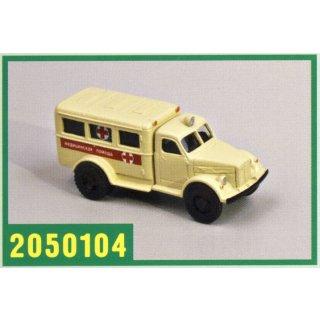 GAZ-51A/PAZ-653 Schnelle Medizinische Hilfe