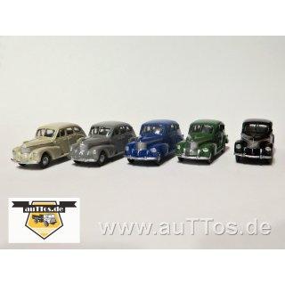 Pkw, ähnlich Opel Kapitän Limousine (1938-40)