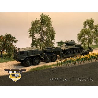 Set Panzertransport T-34/85, 3-teilig