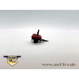 Feldküche Fkü 180/62, rot, abgeprotzt