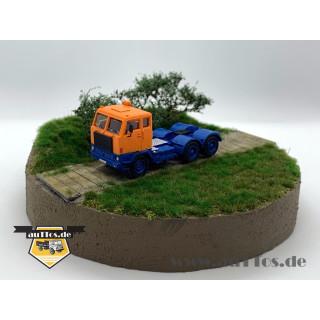 Volvo F88 Sattelzugmaschine 6x2 DEUTRANS orange/blau