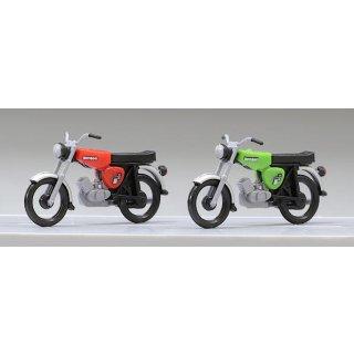 Komplettmodelle 2xSimson S51B (rot und grün)
