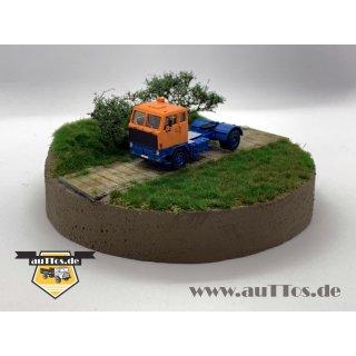 Volvo F89 Sattelzugmaschine 4x2 DEUTRANS orange/blau