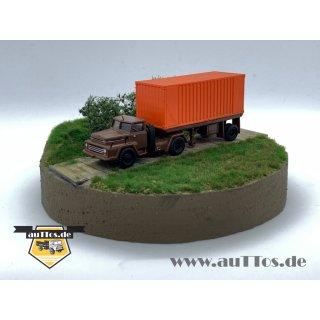 "Csepel D450 ""MAV"" 20´ Containersattelzug"