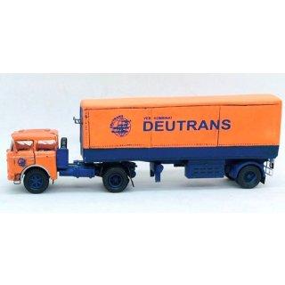 Auflieger 1achs. BSS N19.081 mit Plane DEUTRANS (Bausatz)