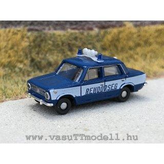 """Shiguli, blau, ungarische Polizei """"Rendörség"""""""