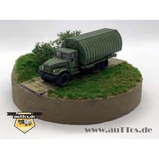 KrAZ-255 PMP Flußponton, militärgrün - NVA