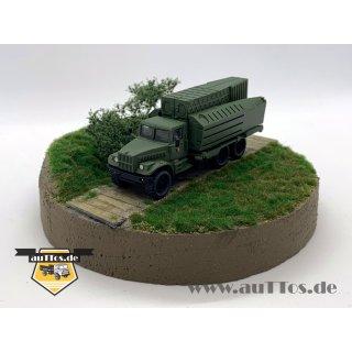 KrAZ-255 PMP Uferponton, militärgrün - NVA
