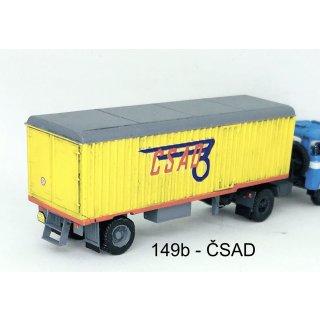 Kofferauflieger Karosa N12S - CSAD (Bausatz)