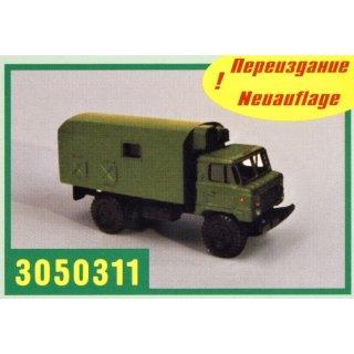 GAZ-66 Koffer K66, militärgrün